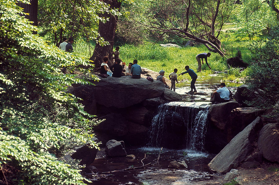 How to Find the Waterfalls in Central Park