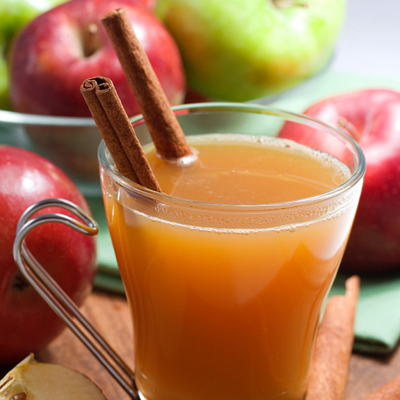 Garnish Spiced Hot Apple Cider