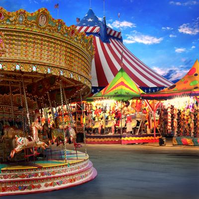 Get Hired at an Amusement Park