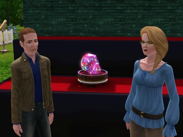 How to Get a Heart Shaped Pink Diamond in Sims 3