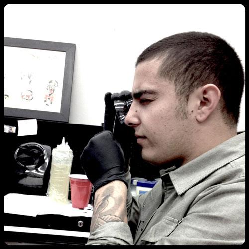 Getting a permanent tattoo