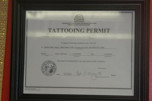 28 How To Get A Tattoo License I D Rather Be Getting