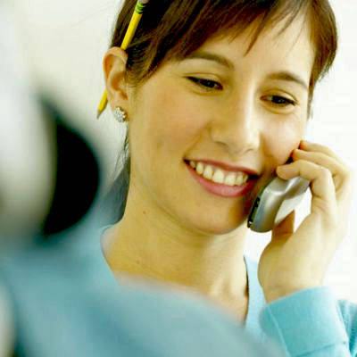 Greet On a Telephone Interview