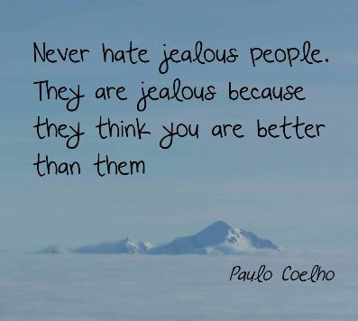Haters and Jealous People