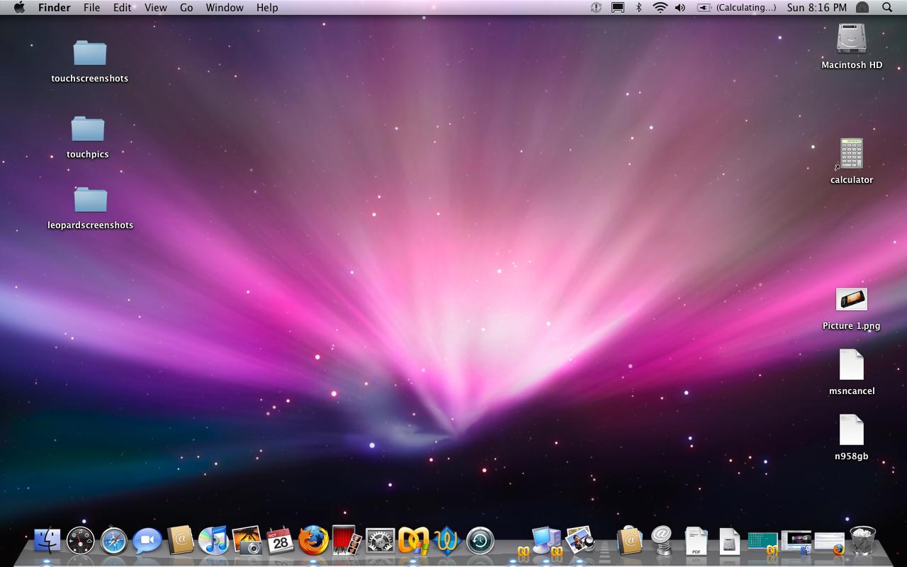 Hiding the Dock on a Macbook