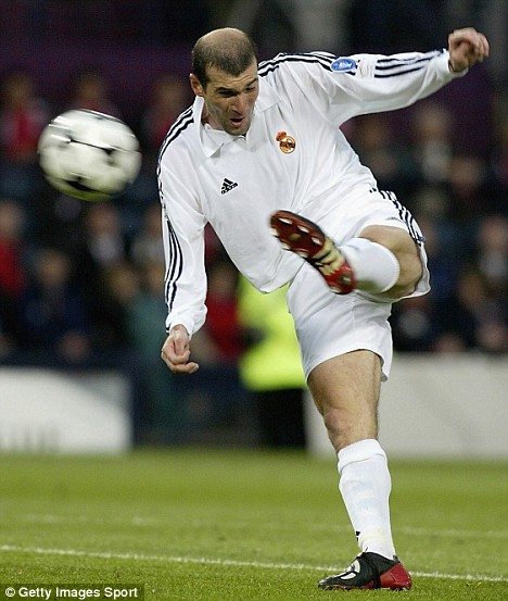 The famous Zidane volley