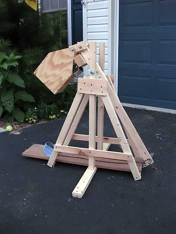 Increase the Firing Distance of a Catapult