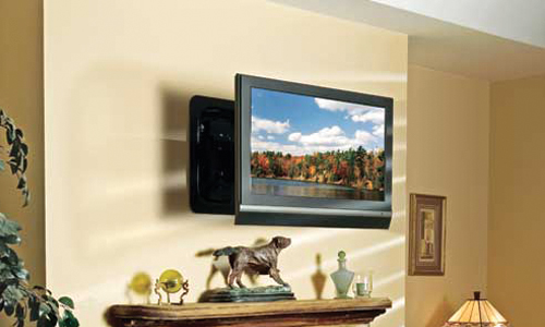 how to install flat panel tv brackets. Black Bedroom Furniture Sets. Home Design Ideas