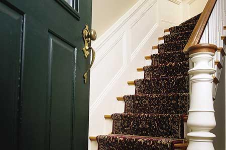 Stairway carpet