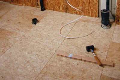 How to put a subfloor in a basement