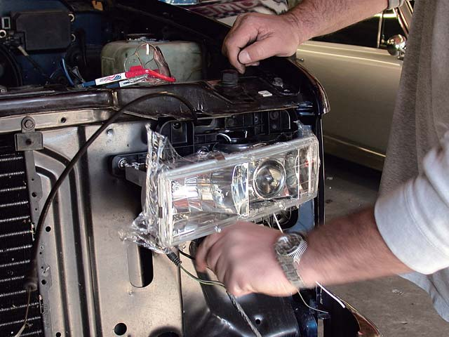 How to Install a Truck Headlights