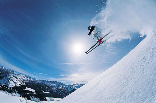learn skiing tricks
