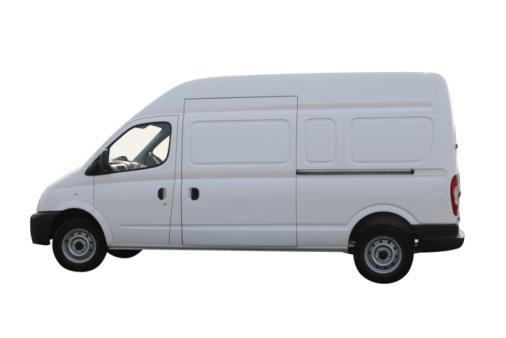 Plain white van