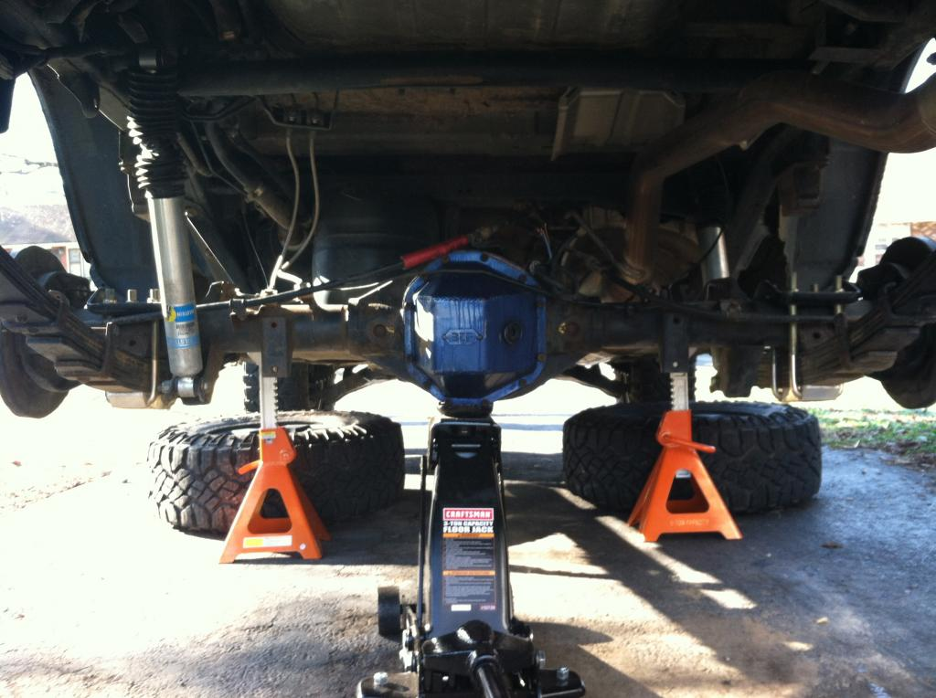 Lift a Two Wheel Drive Truck
