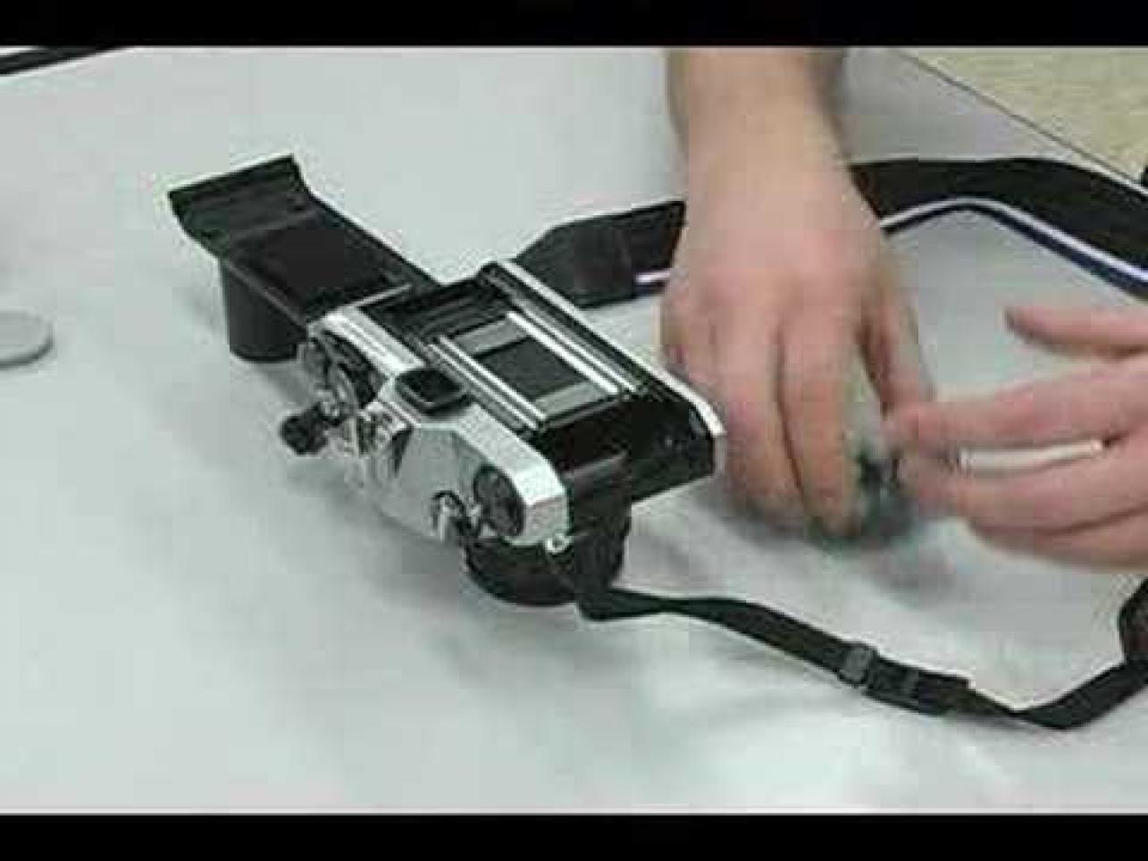 Loading Film in SLR cameras