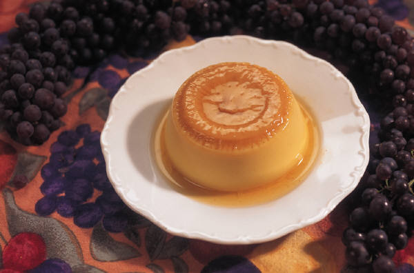 Baked Custard in the Oven