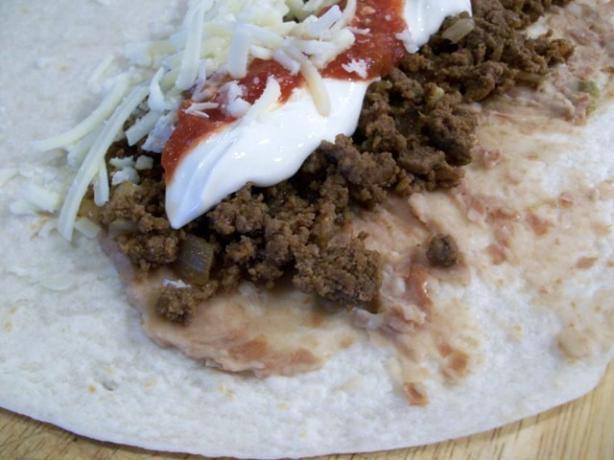 Make Burritos in the Oven