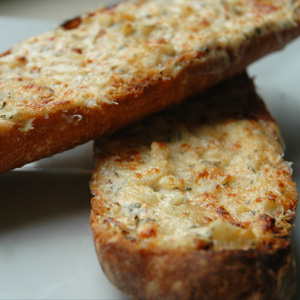 Caramelised Onion Garlic Bread