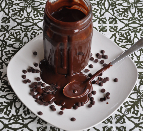 Chocolate Coconut Sauce