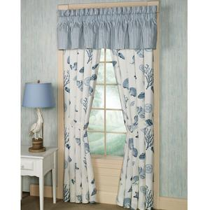 How to Make Curtains with Beach Theme
