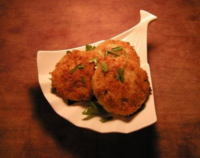 Fried Risotto Cakes