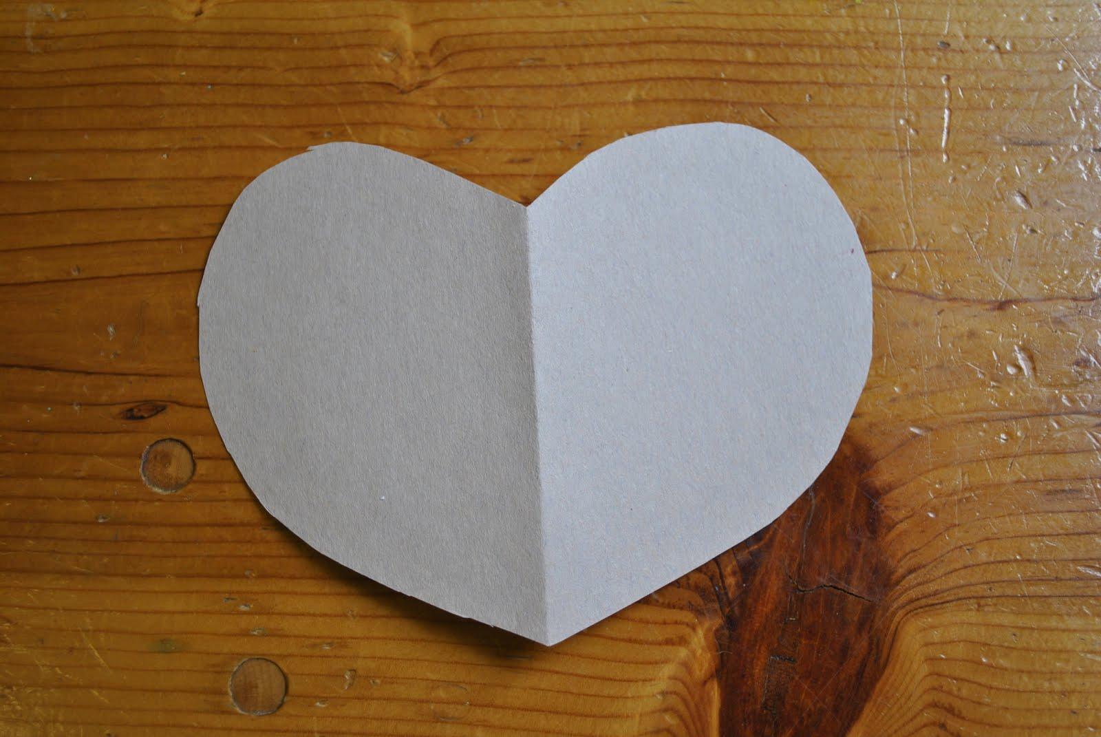 Construciton Paper Heart