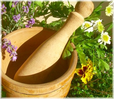 Making herbal beauty products