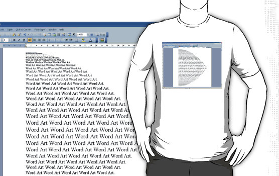 how to make words curve in word