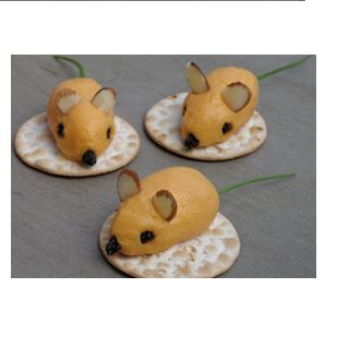 Make Mini Cheese Ball Mice