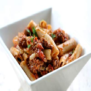 ... meat sauce weeknight meat sauce with rigatoni penne pasta with meat