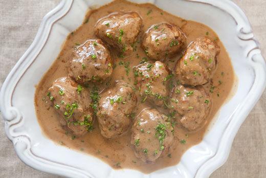 Swedish Meatballs with Sour Cream