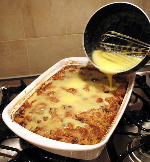 Potato Bread Pudding