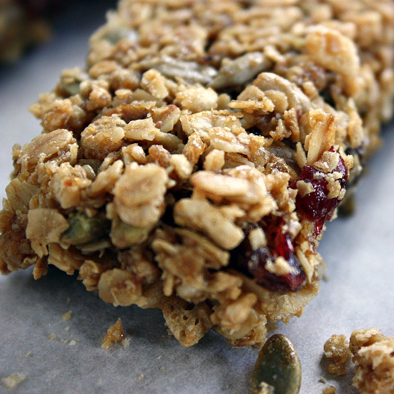 Vegan Chewy Granola Bars