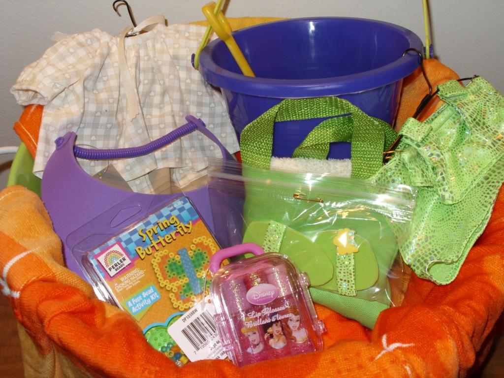 Make a Beach Towel Basket