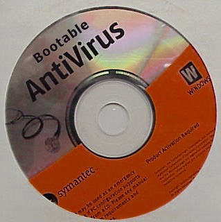 how to create a bootable antivirus disc