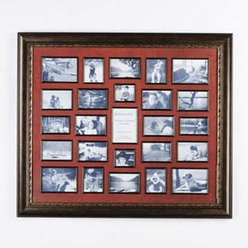 how to make photos stay in collage frame