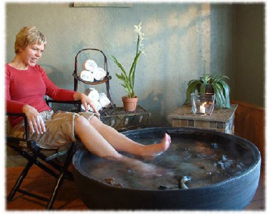 Make a Home Made Foot Bath