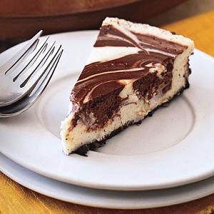 Make a Marbled Chocolate Cheesecake