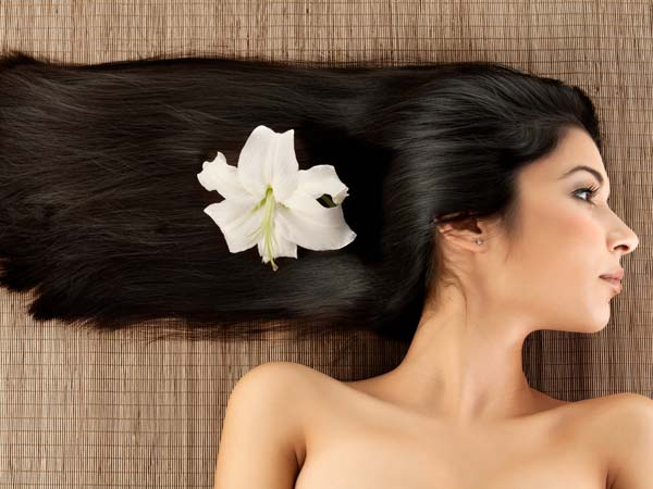 Hair after Nourishing Hot Oil Treatment
