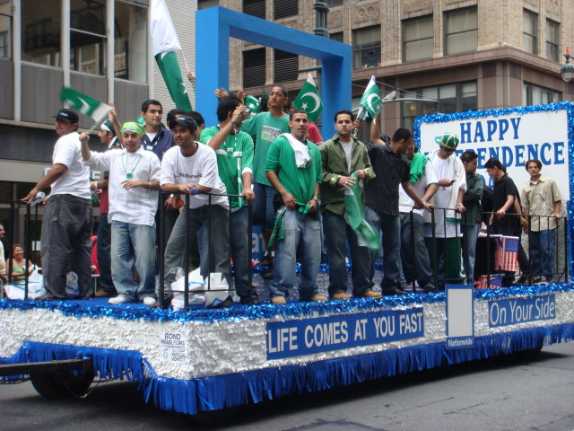 A Parade Float