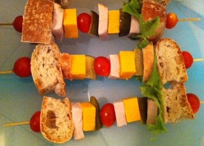 Sandwich on a Stick