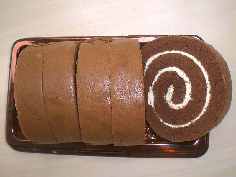Swiss Chocolate Roll