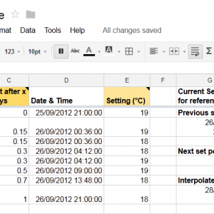 Make a Table in Google Docs