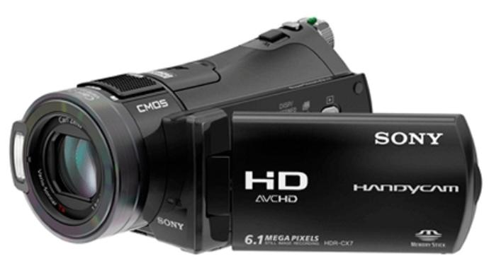 Make a VCD Movie from a Sony Handycam
