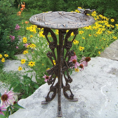 Make a Wooden Bird Bath