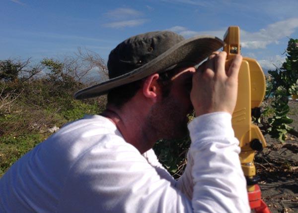 Measuring a Beach Slope Angle