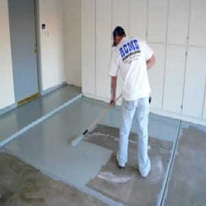 Painting Concrete Garage Floor