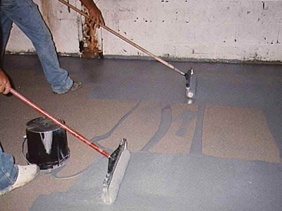 How To Paint A Concrete Garage Floor