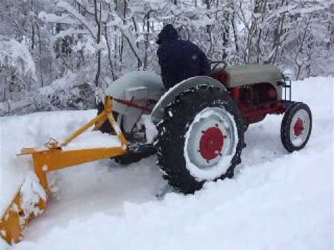 How to Plow With a Ford Jubilee