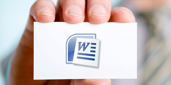 How to print business cards in microsoft word for Print business cards in word